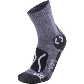 UYN Trekking Outdoor Expl**** Socks Men Grey Melange/Pearl Grey